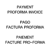 Pro forma payment