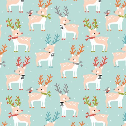 Reindeers by Dashwood Studio - Cotton - 10m