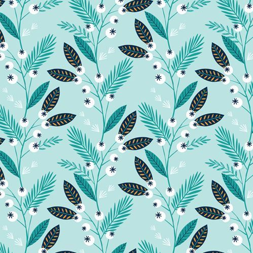 Winter fruit by Bethan Janine for Dashwood Studio - Cotton - 10m